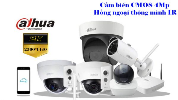 Camera HIKVISION 5.0 và DAHUA 4.0