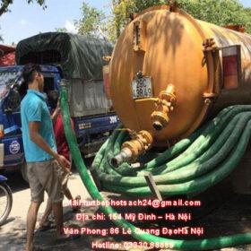 Hút bể phốt Hà Nội