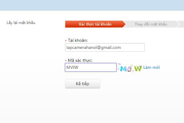Nhập tài khoản Gmail và mã xác thực theo ảnh