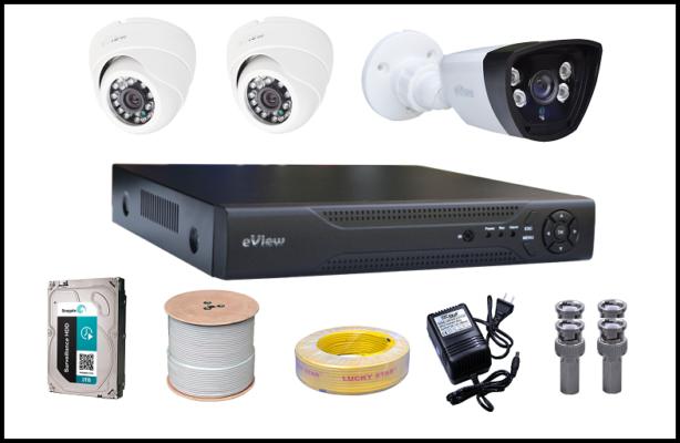 Lắp đặt camera quan sát cần những gì