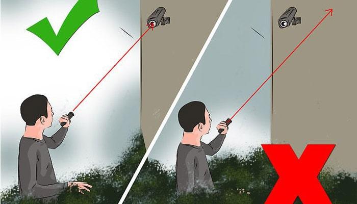 Vô hiệu hóa camera bằng đền laser