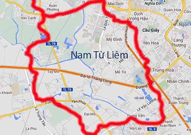 Quận Nam Từ Liêm