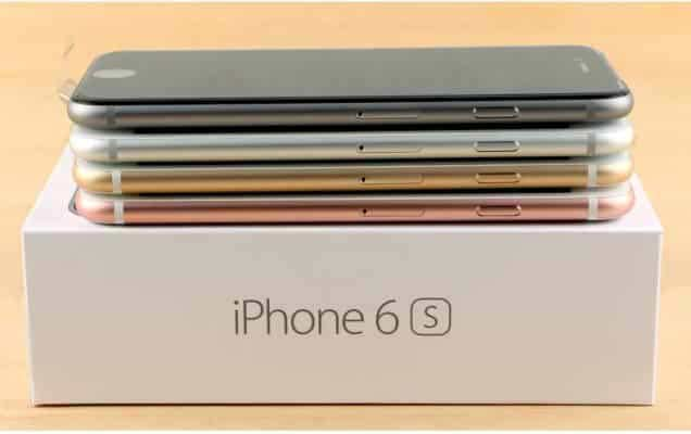 Thiết kế iPhone 6s