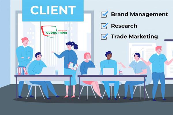 Client trong lĩnh vực marketing