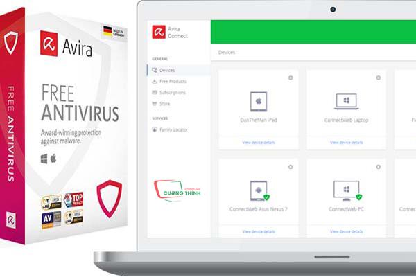 Phần mềm diệt virus Avira Free Antivirus