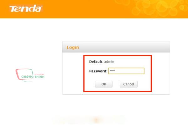 Truy cập địa chỉ bằng trình duyệt nhập tài khoản
