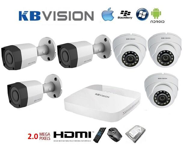 Một số dòng camera an ninh Kbvision hiện nay trên thị trường