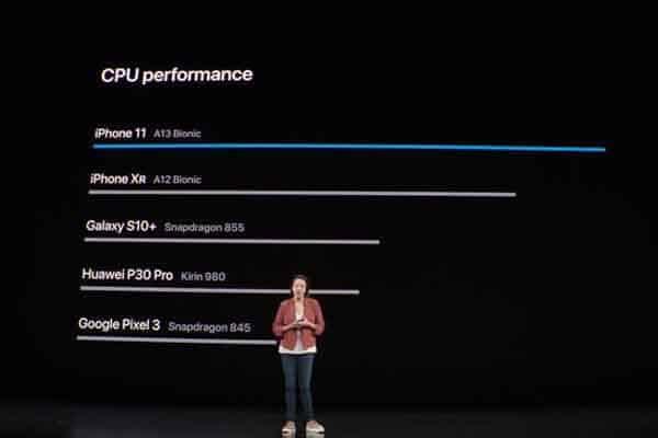Apple tự tin tuyên bố hiệu năng iPhone 11 Pro