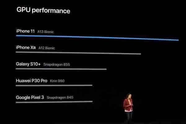 Apple tự tin tuyên bố hiệu năng mạnh mẽ