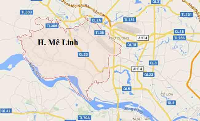 Lắp đặt camera tại Huyện Mê Linh