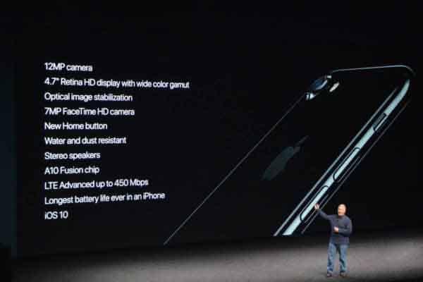 Cấu hình mạnh mẽ của iPhone 7 Plus