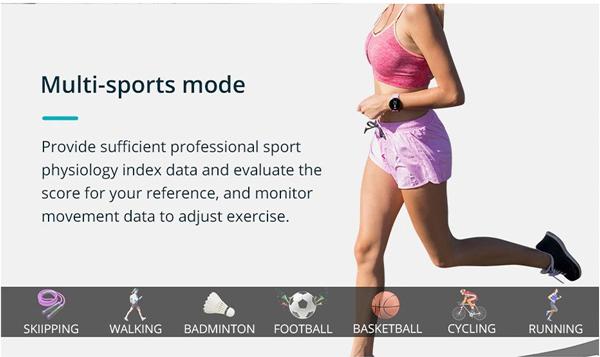 Tính năng hỗ trợ thể dục thể thao