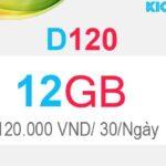 Hướng dẫn đăng ký D120 Viettel có 12GB Dcom 4G