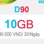 Hướng dẫn đăng ký D90 Viettel có 10GB Dcom 4G
