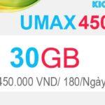 Hướng dẫn đăng ký MIMAX450 Viettel có 30GB 180/ngày
