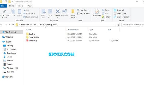 Copy tất cả các file trong thư mục sketchup