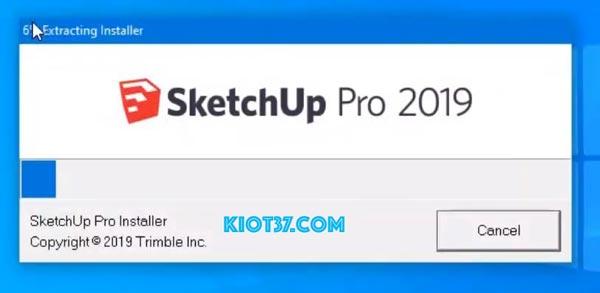 Hướng dẫn cài đặt chi tiết Sketchup pro 2019