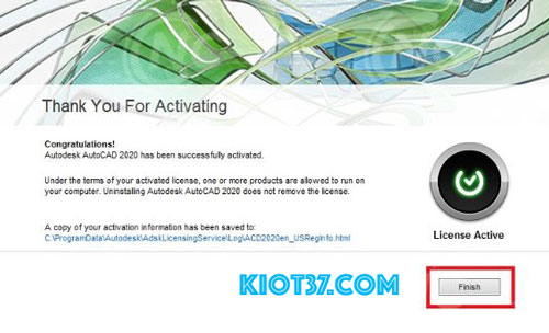 I have an activation code from Autodesk