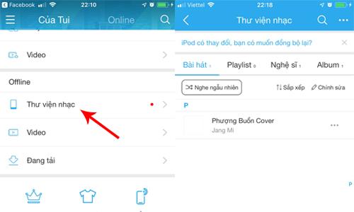 Kiểm tra xem bài hát của bạn đã được chép nhạc vào iPhone thành công hay chưa