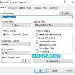 Cách nén file và cách giải nén file bằng 7ZIP, RAR, PDF, file word