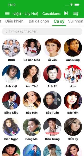 VietKara- App hát karaoke trên iPhone