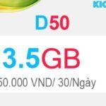 Hướng dẫn đăng ký D50 Viettel có 3.5GB Dcom 3G