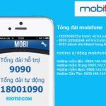 Tổng đài MobiFone 24/7 số điện thoại hotline CSKH miễn phí