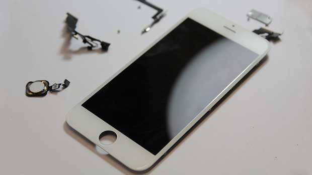 iPhone dựng lại màn hình