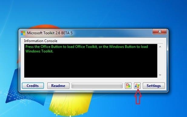 click vào biểu tượng Windows
