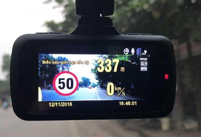 Camera hành trình Vietmap cho Nissan Navara được nhiều người đánh giá cao