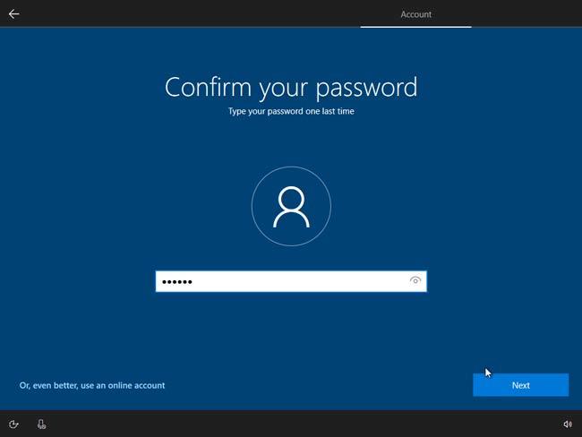 Nhập vào mật khẩu