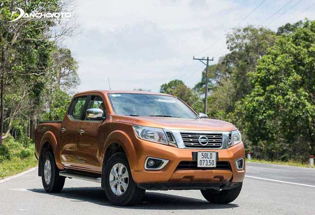 Nissan Navara là một xe bán tải điển hình cho phong cách cứng cáp nhưng tinh tế của Nhật