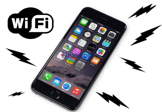iPhone không phát được Wifi
