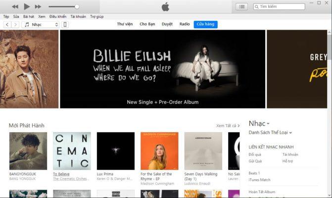 Cửa hàng iTunes