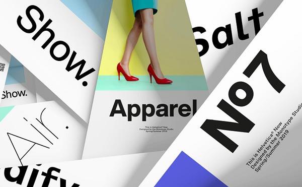 Font Helvetica được ứng dụng phổ biến