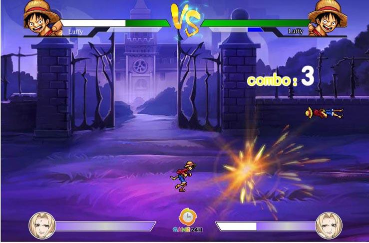 Game One Piece vs Fairy Tail 3.0 có nhiều nhân vật mới