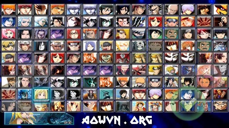 Kinh nghiệm chơi Bleach vs Naruto 3.0