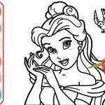 Tổng hợp bộ tranh tô màu công chúa xinh đẹp cho bé