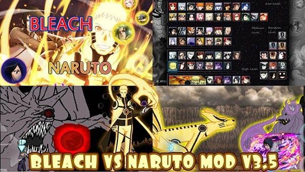 Naruto vs Bleach được xem là một trong những huyền thoại của game đối kháng