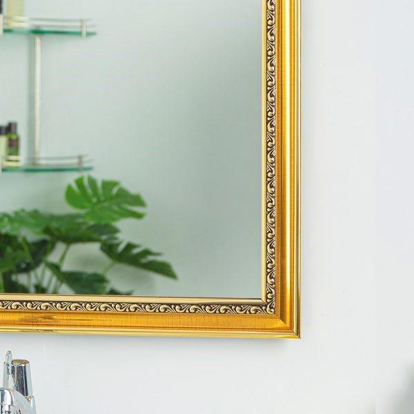 Những mẫu gương có màu sắc đen và vàng đồng