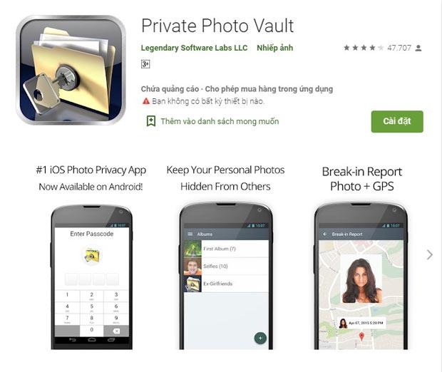 Private Photo Vault