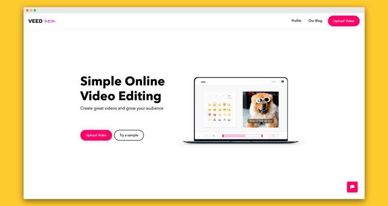 Sử dụng Veed.io để mang đến một video chất lượng nhất