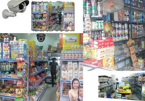 Lợi ích khi lắp Khu vực cửa hàng, siêu thị bán lẻ