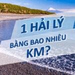 1 hải lý bằng bao nhiêu km? Hướng dẫn cách chuyển đổi hải lý ra km