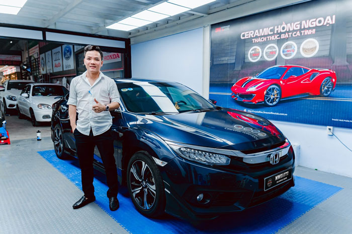 Anh Mạnh Đức - CEO & Founder MMK Auto