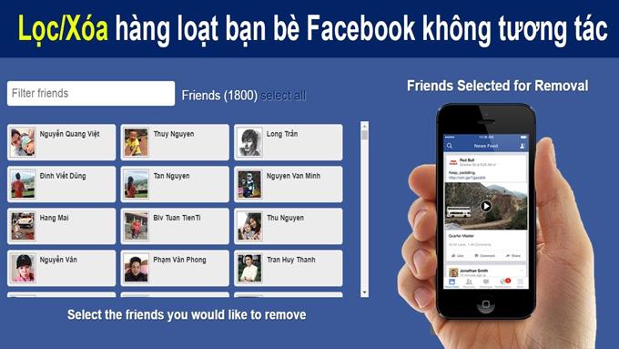 Bật mí những cách lọc bạn bè trên Facebook