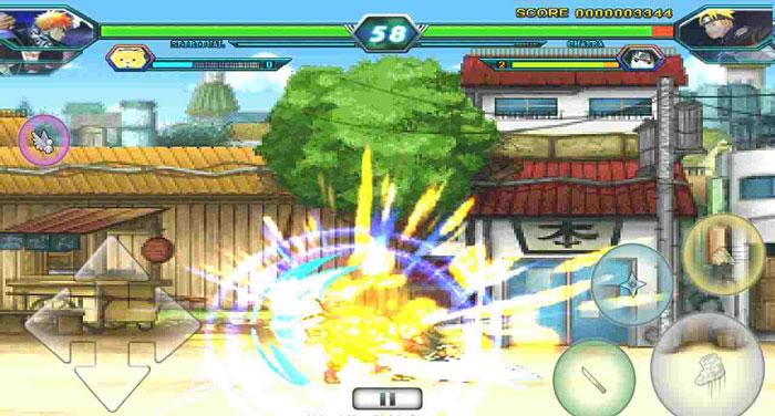Hướng dẫn cách chơi game Bleach vs Naruto 2.9