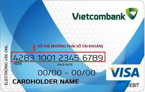 Số tài khoản Vietcombank có bao nhiêu số