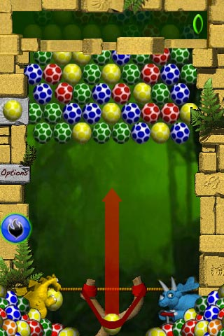 Trò chơi trí tuệ trên ios – Egg Shoot