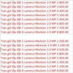 Lắp Đặt Camera Tại Hà Nội Giá Sinh Viên chỉ với 150k/mắt